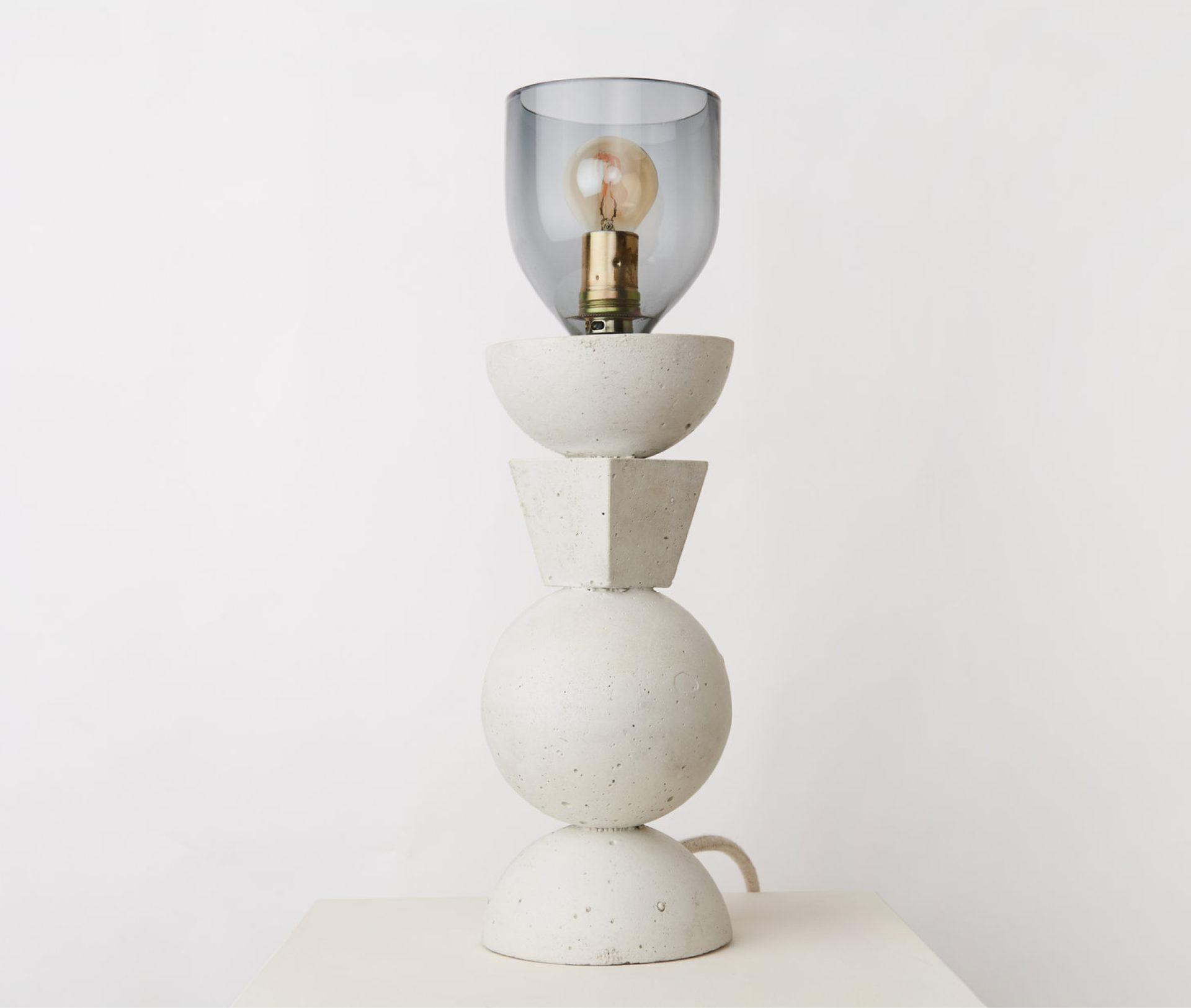 Lampe Concreto Totem