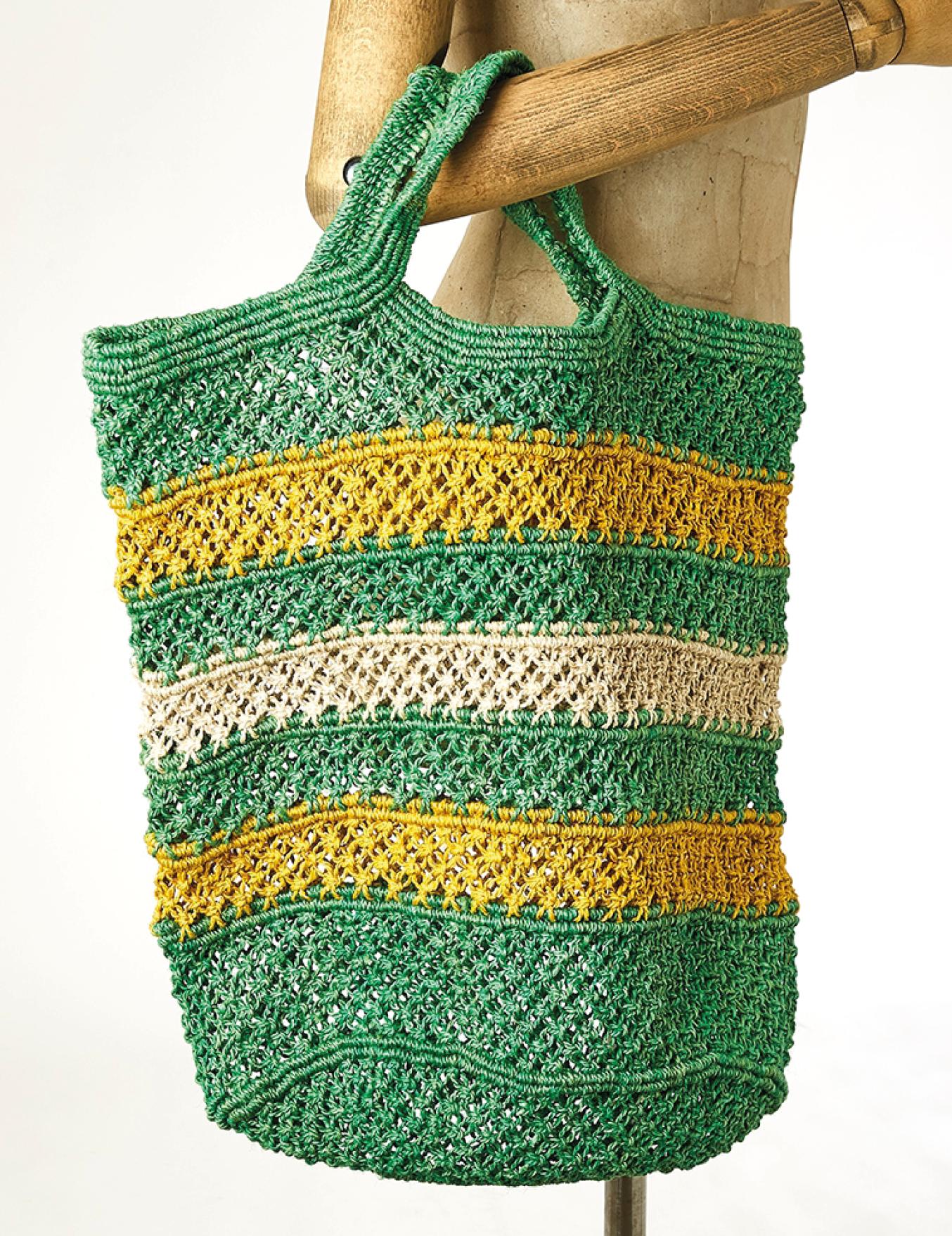 Cabas en fibres de jute Porto