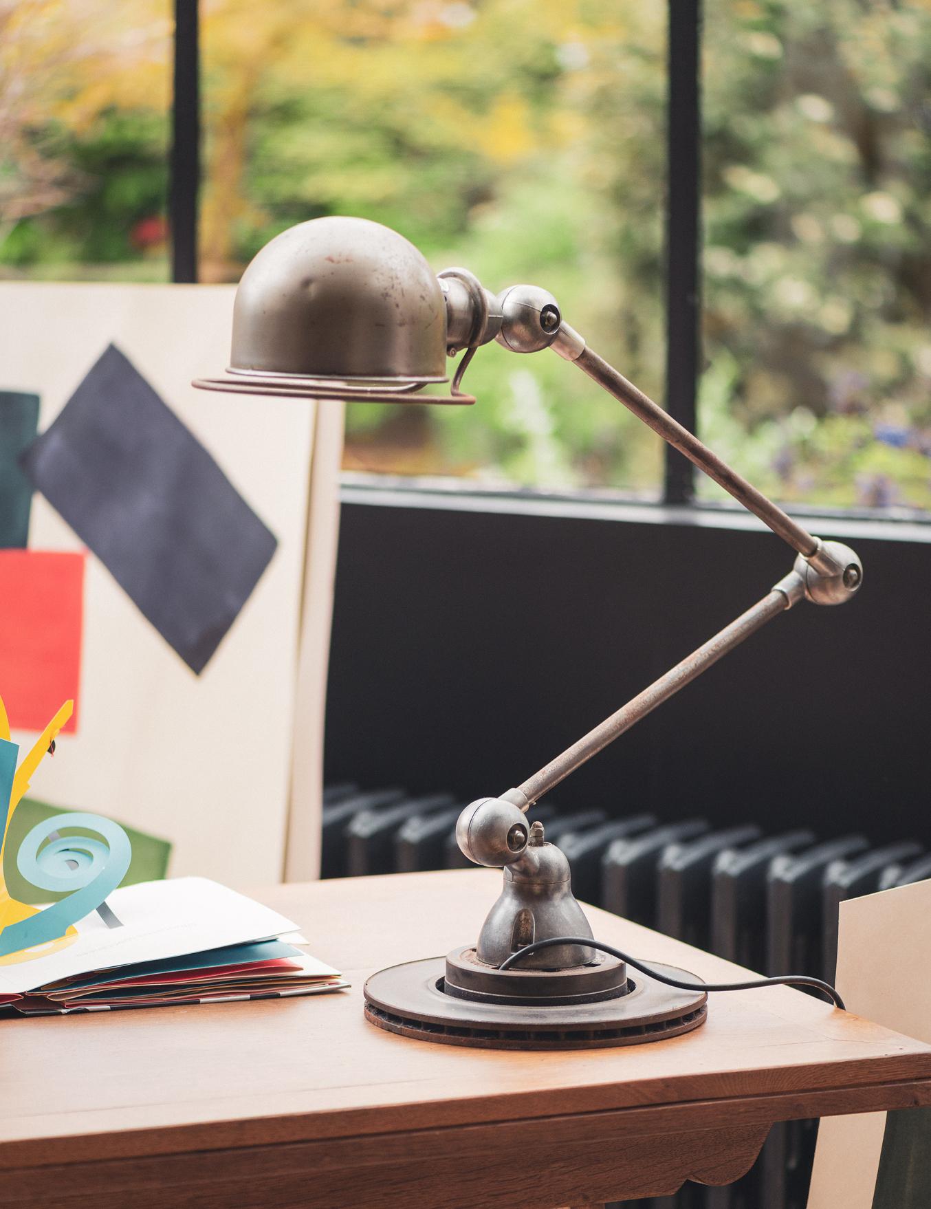 Lampe de bureau style industriel par JLD