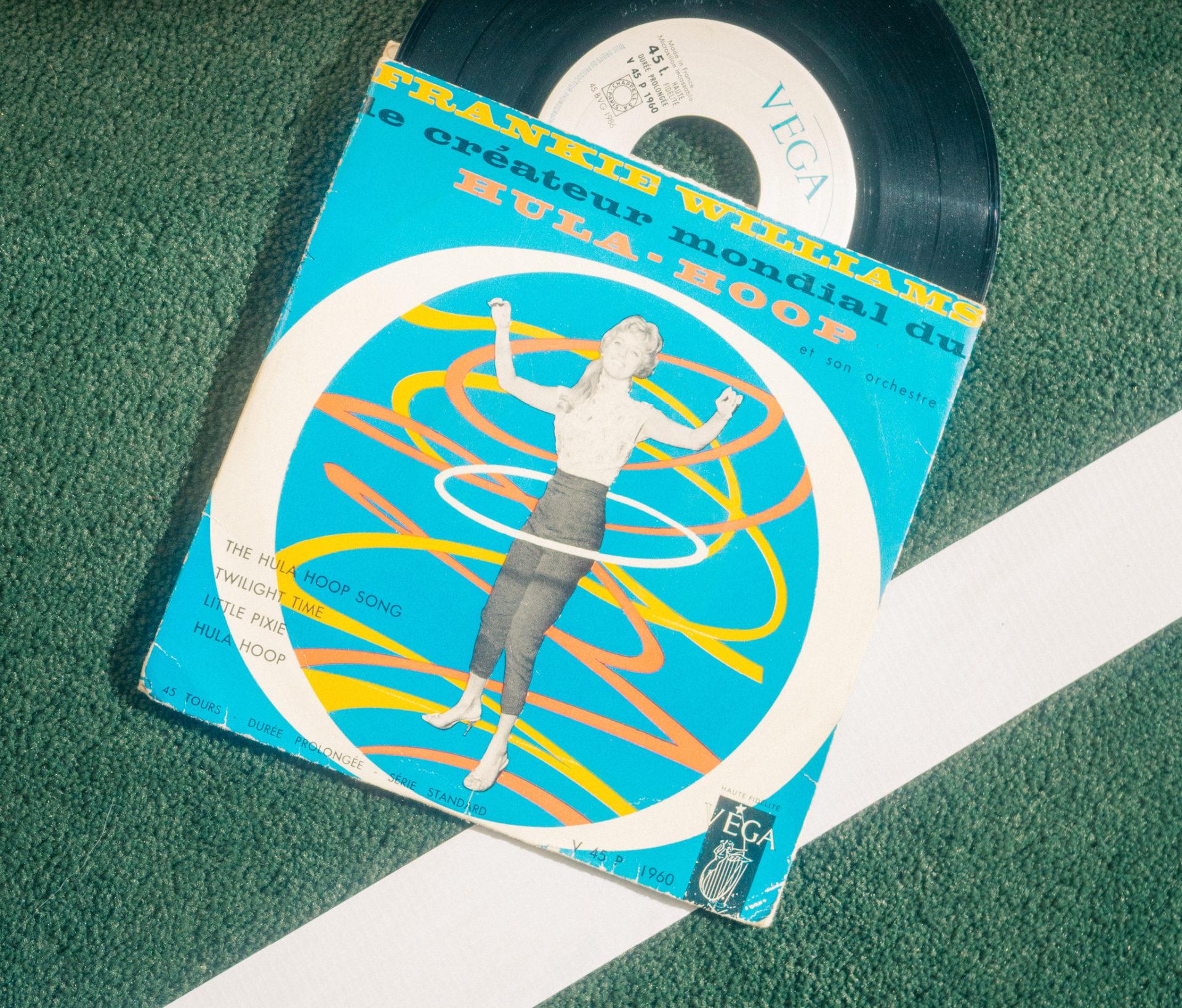 Vinyle Hula Hoop
