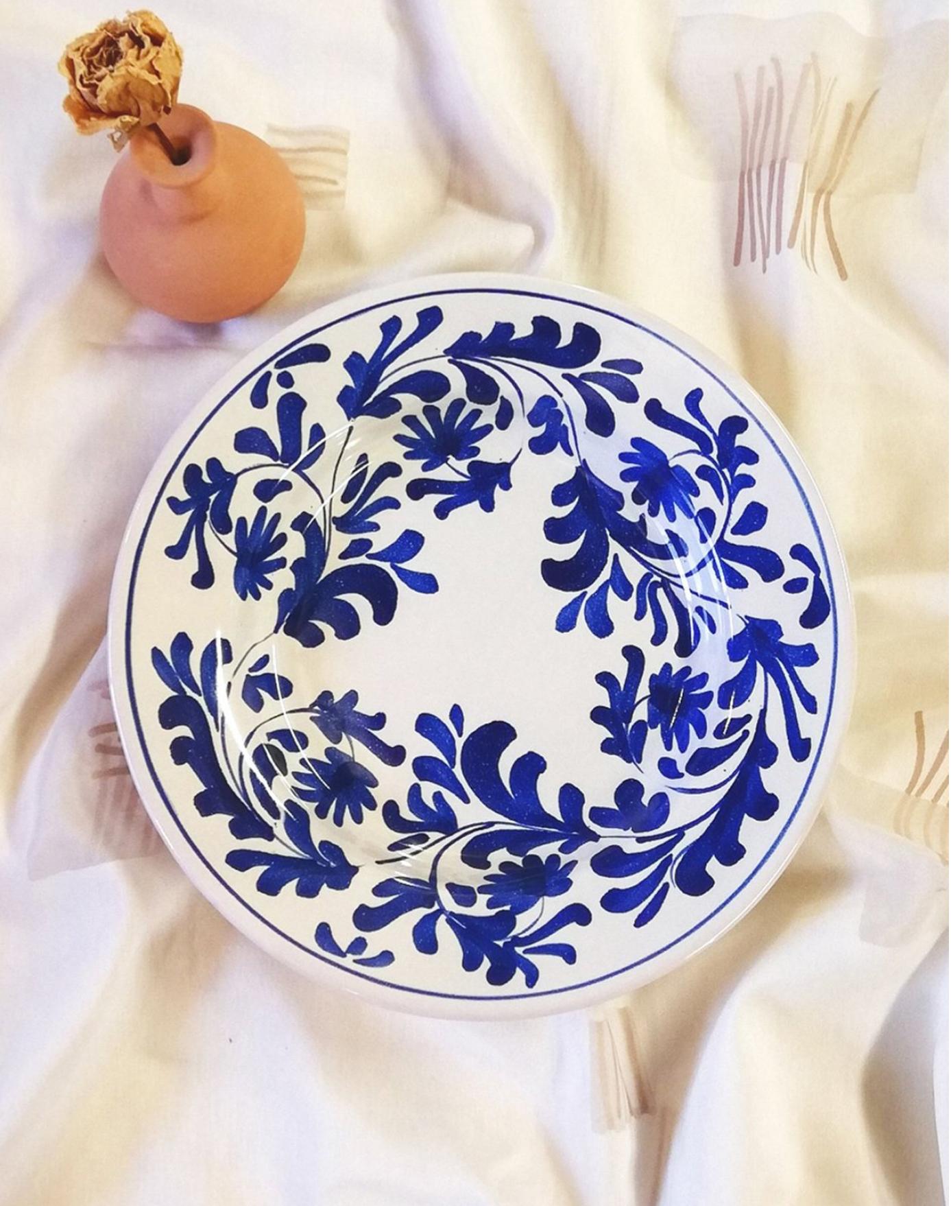 Assiette Matisse