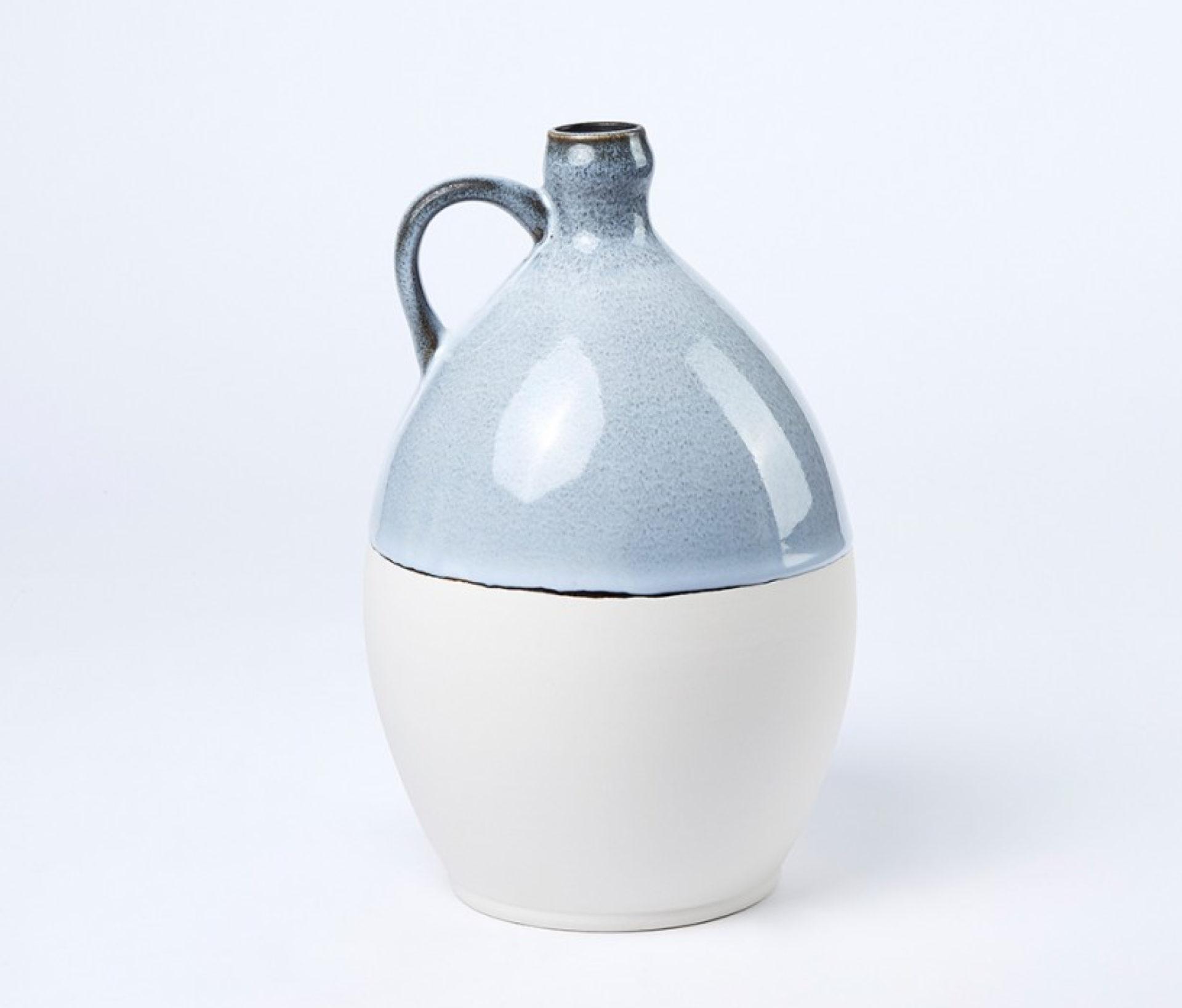 Vase bleu Dame Jeanne
