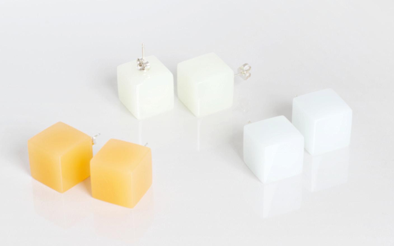 Boucles d'oreilles Candy Cube