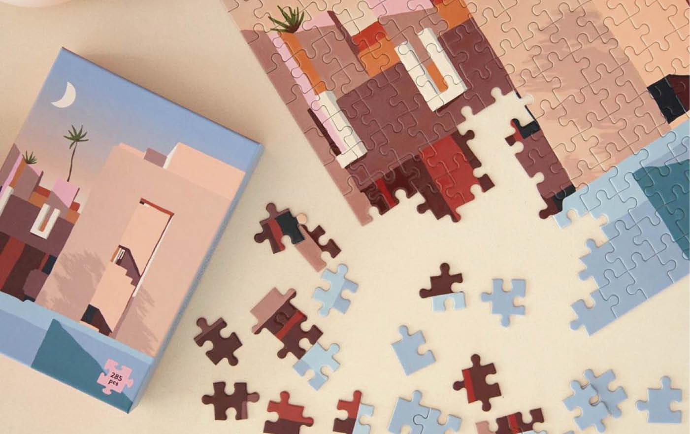 Puzzle La Muralla Roja