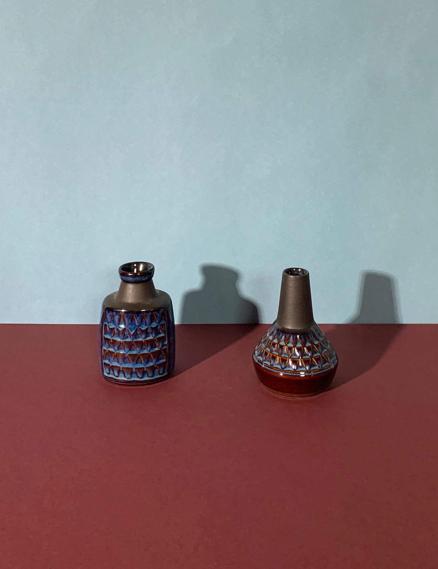 Vases en céramique Søholm Stentøj