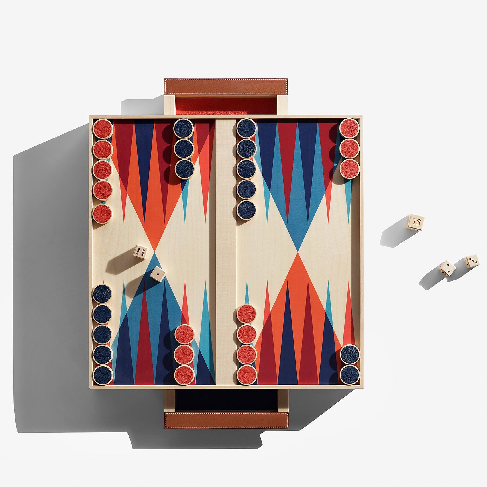 Jeu de backgammon Palio
