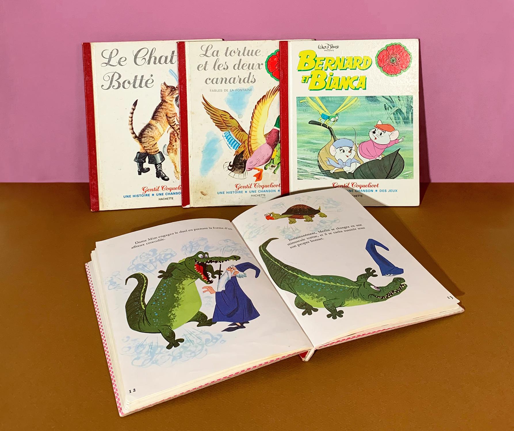Collection de 4 livres anciens