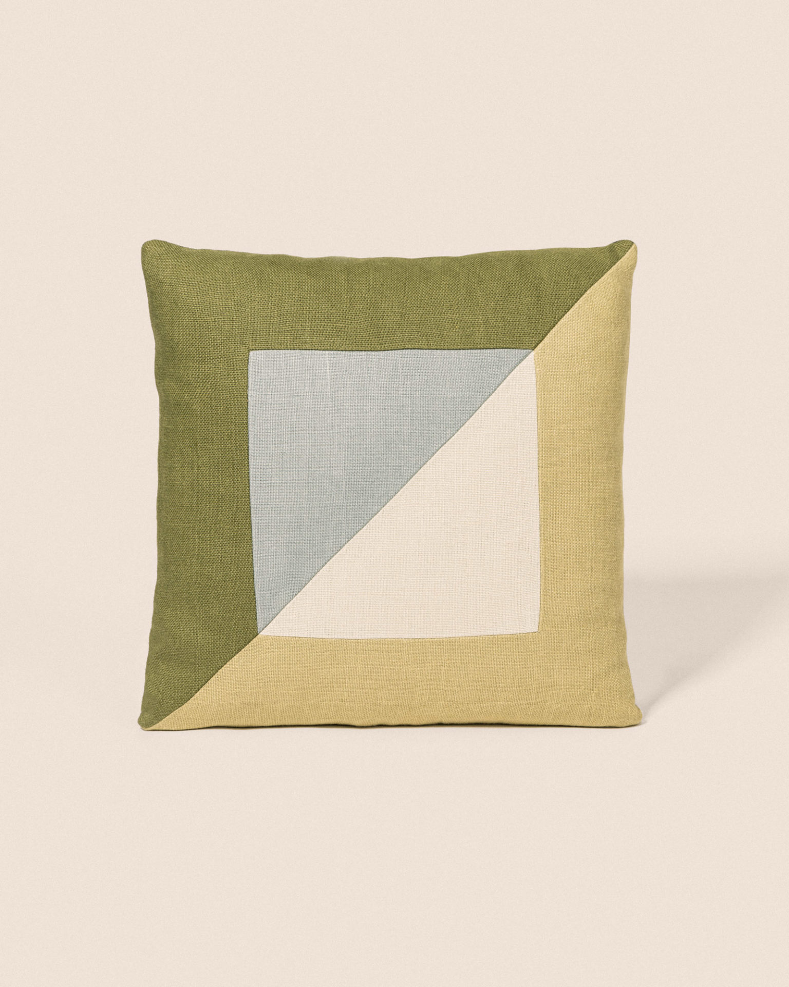 Coussin Diagonal - Ciel & Olive