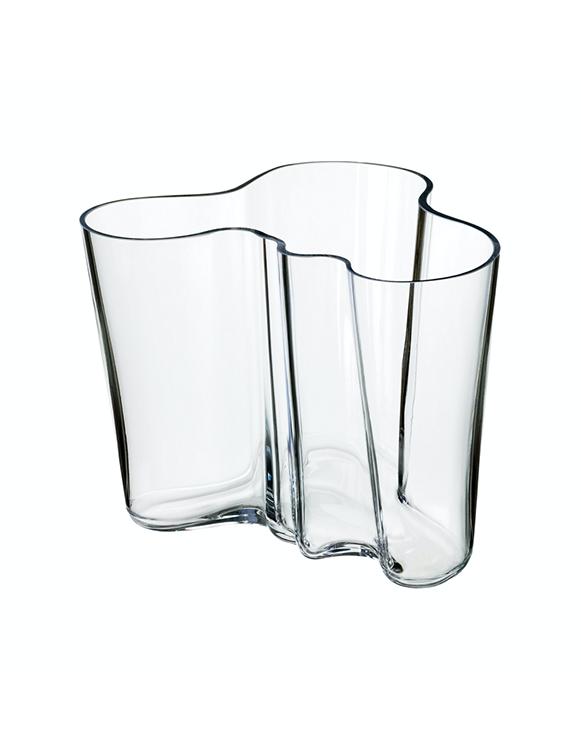Vase en verre Savoy - Transparent