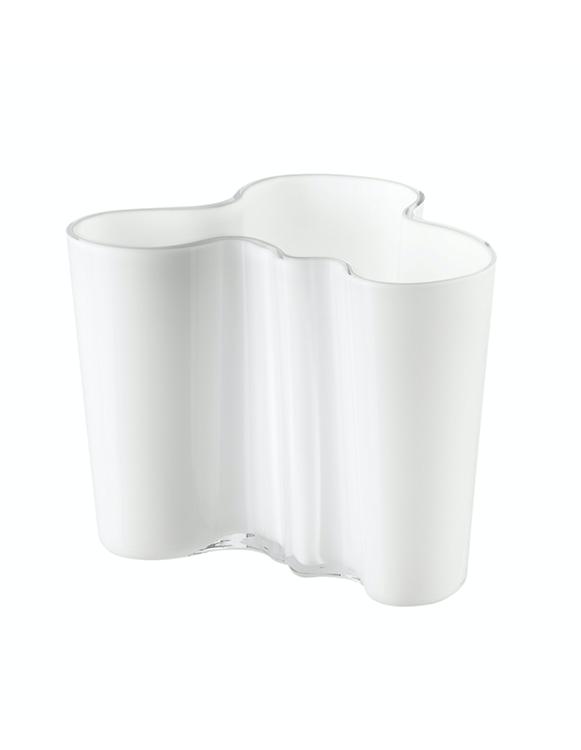 Vase en verre Savoy - Blanc