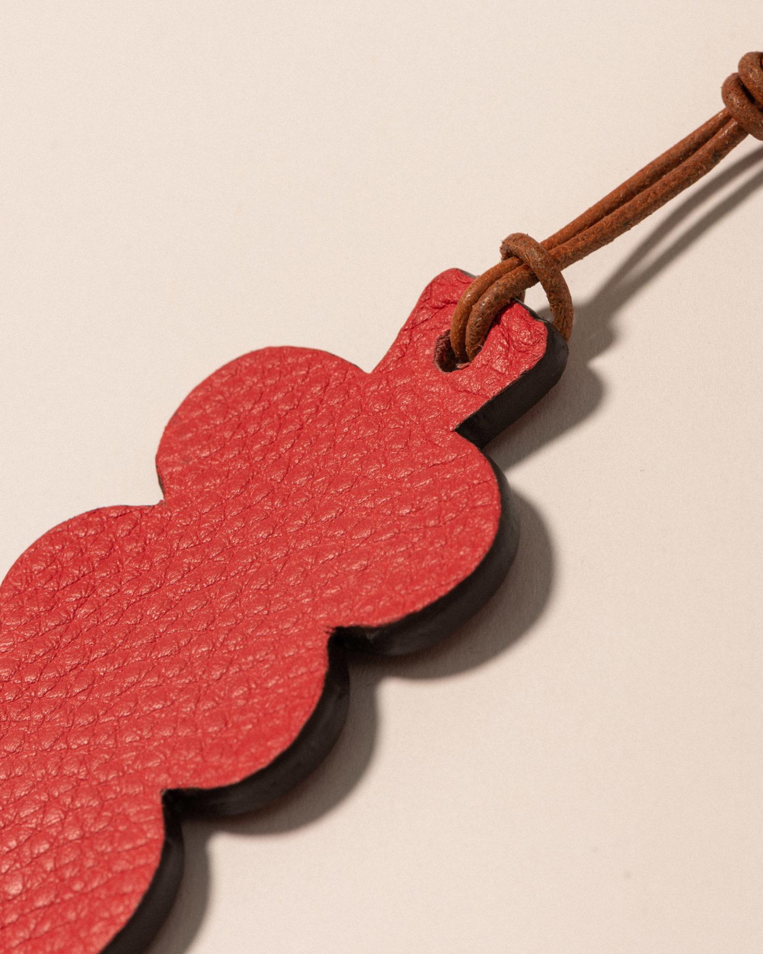 Porte-clés Houle - Corail & Camel