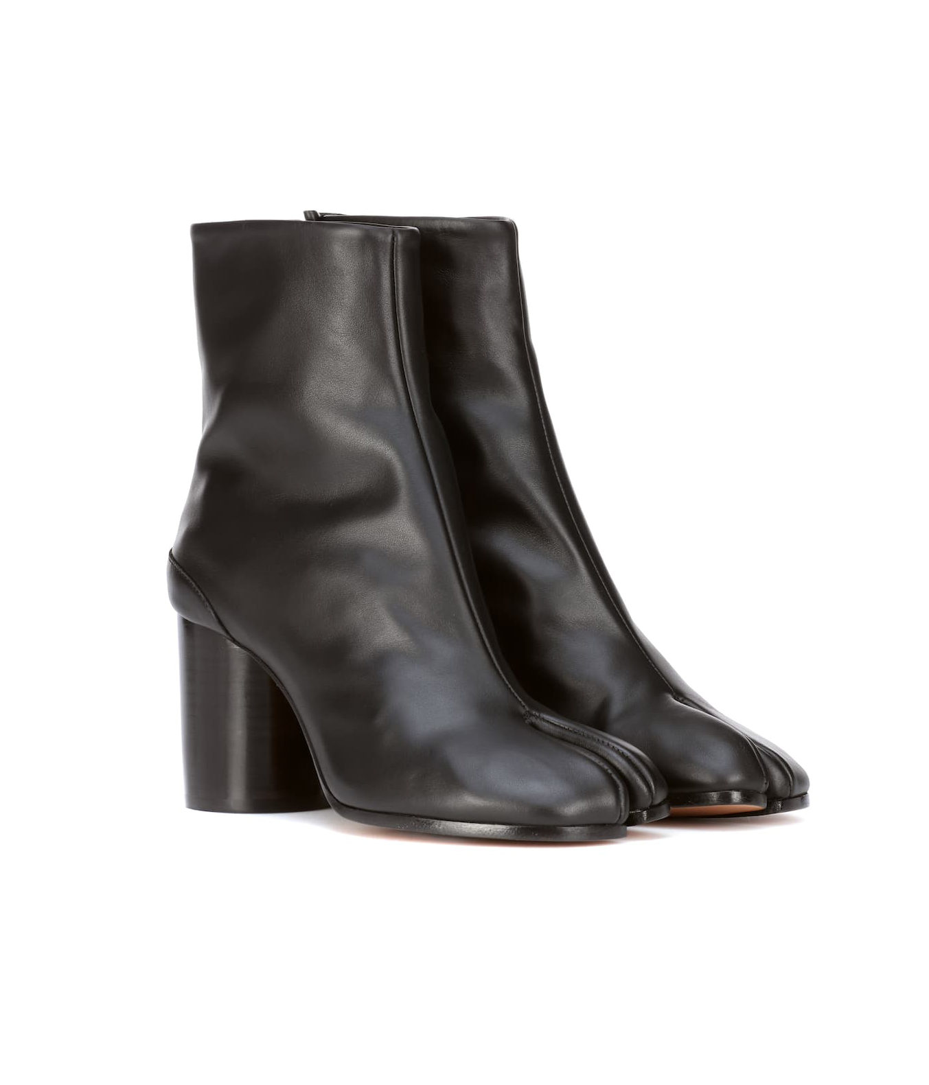 Bottines en cuir Tabi