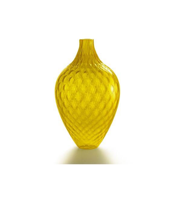 Vase Samarcanda verre jaune
