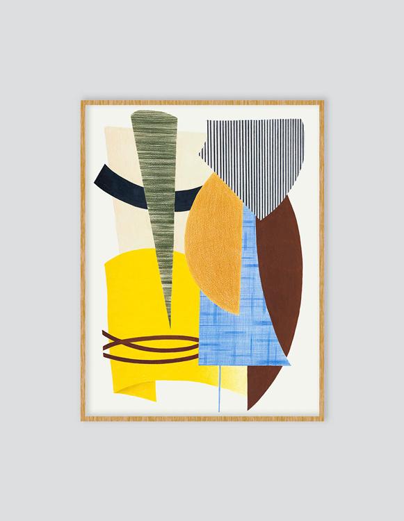 Art Print Stripe Velvet