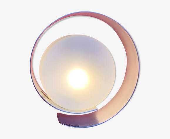Lampe de table spirale