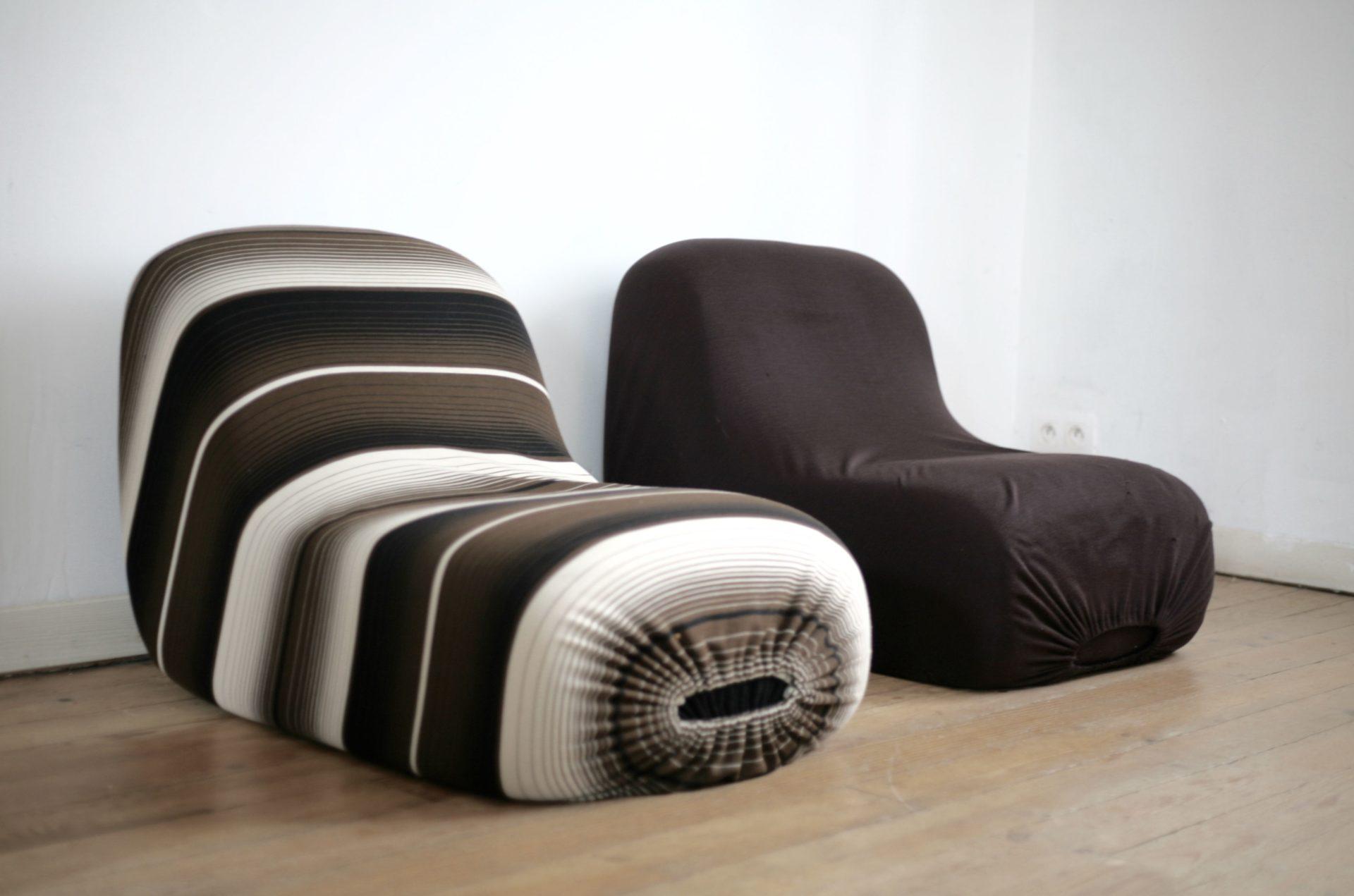 Paire de fauteuils, édition Racine