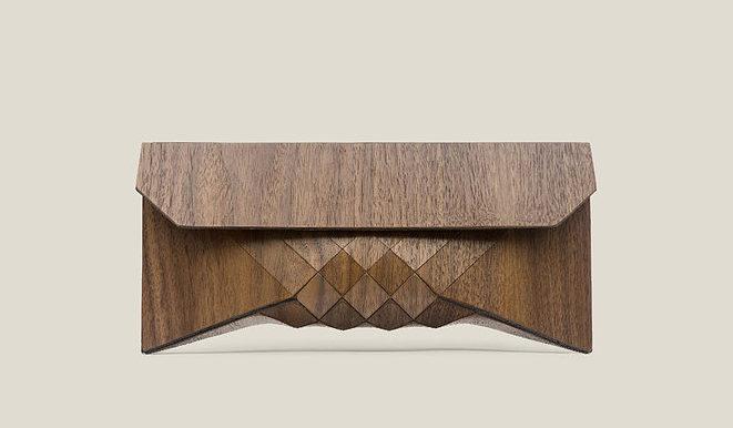 Pochette Wood Clutch