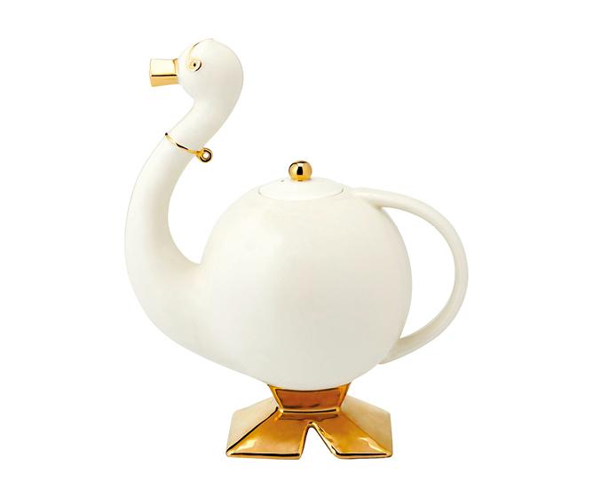 Théière canard