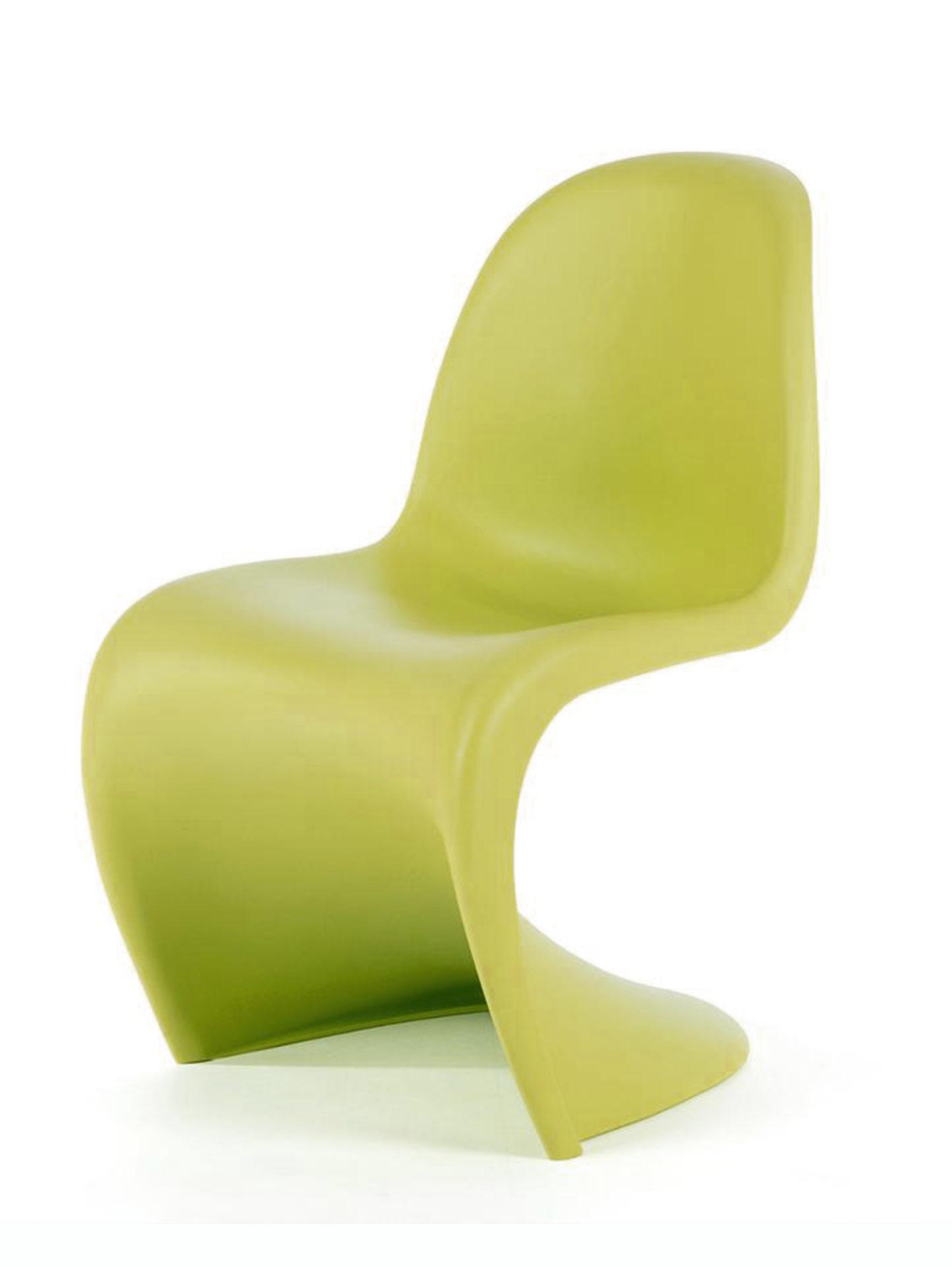 Panton Chair Vitra anis